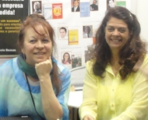 Ivânia Hebling Martins e Cecília Ferreira